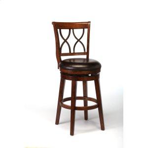 Hillsdale FurnitureReydon Swivel Bar Stool - Brown Cherry