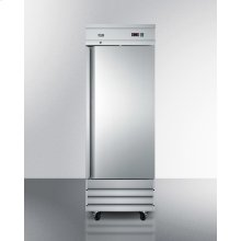 Commercially Approved 23 CU.FT. Reach-in Refrigerator In Complete Stainless Steel; Replaces Scrr230