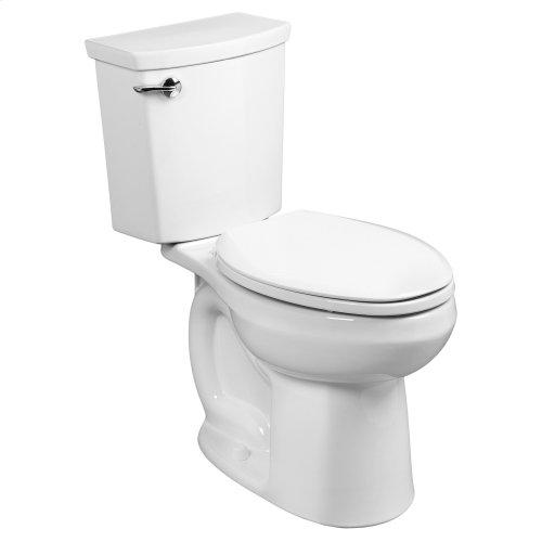 H2Optimum Siphonic Elongated Toilet - 1.1 GPF - White