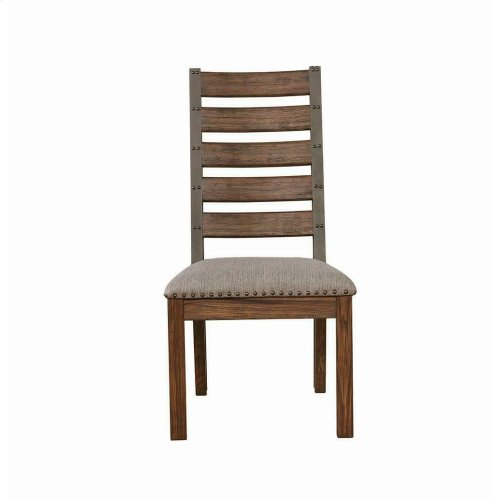 Atwater Industrial Grey Dining Chair