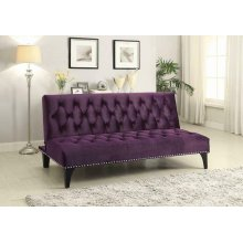 Purple Velvet Sofa Bed