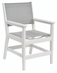Mayhew Sling Dining Arm Chair