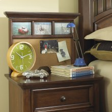 Manning Nightstand Back Panel