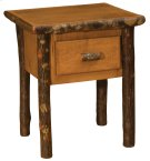 Hickory One Drawer Nightstand - Espresso Product Image