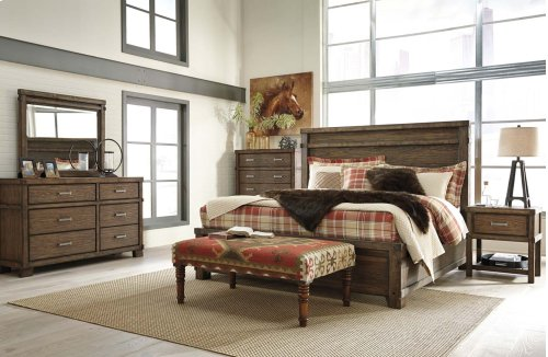 Leystone - Dark Brown 2 Piece Bedroom Set
