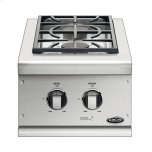 "Dynamic Cooking Syst14"" Series 7 Double Side Burner, Natural Gas"