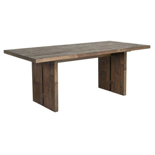 """Dalton Dining Table 77"""" Barnwood"""