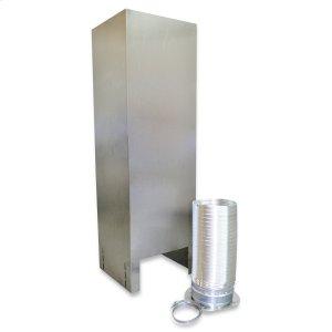 WhirlpoolIsland Hood Chimney Extension Kit (10-12ft) for vented hoods Stainless Steel