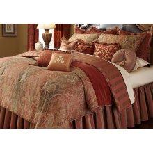 12PC. Queen Comforter Set Spice