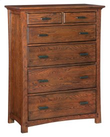 DAO 6-Drawer Prairie City Chest