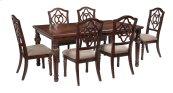 Leahlyn - Reddish Brown 7 Piece Dining Room Set