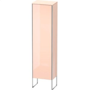 Tall Cabinet Floorstanding, Apricot Pearl High Gloss Lacquer