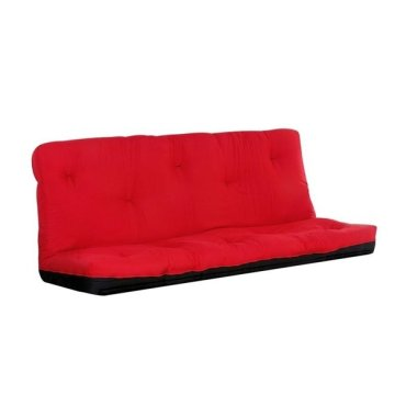 "8"" RED Q SIZE FUTON MATTRESS"