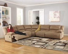 Zero Wall Armless Recliner