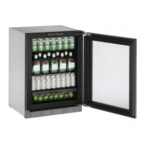 U-Line2000 Series 60 Cm Drinks Cabinet With Integrated Frame Finish and Field Reversible Door Swing (220-240 Volts / 50 Hz)