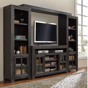 Ashley Furniture Gavelston - Black 4 Piece Entertainment Set