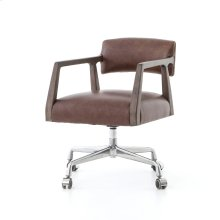 Havana Brown Cover Tyler Desk Chair