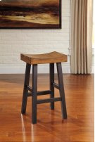 Glosco - Brown Set Of 2 Dining Room Barstools Product Image