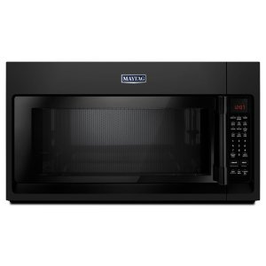 MAYTAGOver-The-Range Microwave With WideGlide Tray - 2.1 Cu. Ft. Black