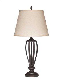 Metal Table Lamp - Mildred Bronze Finish