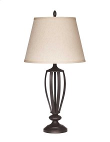 Metal Table Lamp (2/CN) Mildred - Bronze Finish Collection Ashley at Aztec Distribution Center Houston Texas