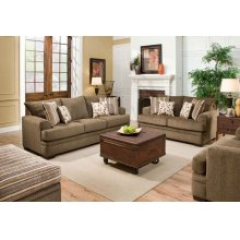 3650 HOYER Loveseat in Cornell Cocoa (MFG # 3652-1661)
