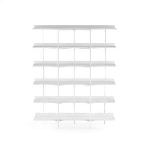 Bdi FurnitureShelving System 5306 in Satin White Satin White