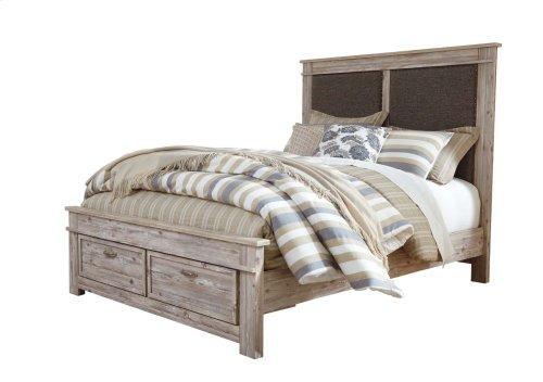 Willabry - Weathered Beige 4 Piece Bed Set (Queen)