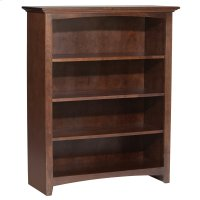 "CAF 48""H x 36""W McKenzie Alder Bookcase Product Image"