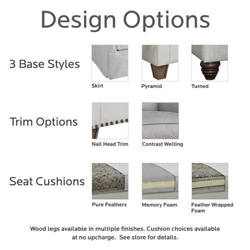 Designer Comfort Exeter Studio Sofa