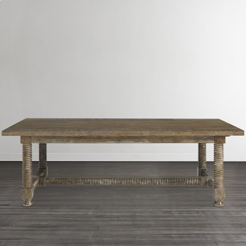 """Compass 94"""" Trestle Dining Table"""