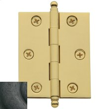 Distressed Oil-Rubbed Bronze Cabinet Hinge