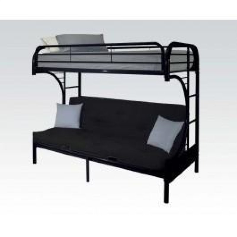 02091wbk In By Acme Furniture Inc In Portland Or Black T F Futon