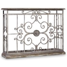 Living Room Chatelet Metal Console