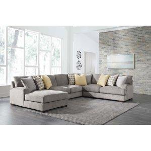 Ashley Furniture Fallsworth - Smoke 4 Piece Sectional