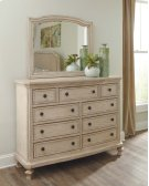 Demarlos - Parchment White 2 Piece Bedroom Set Product Image