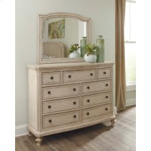 Demarlos - Parchment White 2 Piece Bedroom Set