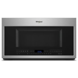Whirlpool 2.1 Cu. Ft. Over-The-Range Microwave With Steam Cooking Fingerprint Resistant Stainless Steel