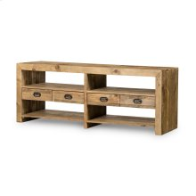 Mariposa Media Console-rustic Natural