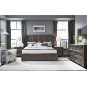 LEGACY CLASSIC FURNITUREFacets Complete Shelter Bed, Queen 5/0