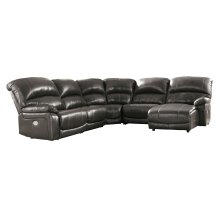 Hallstrung - Gray 5 Piece Sectional