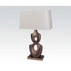 "28""h Table Lamp Bs/sh"