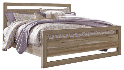 Kianni - Taupe 3 Piece Bed Set (King)