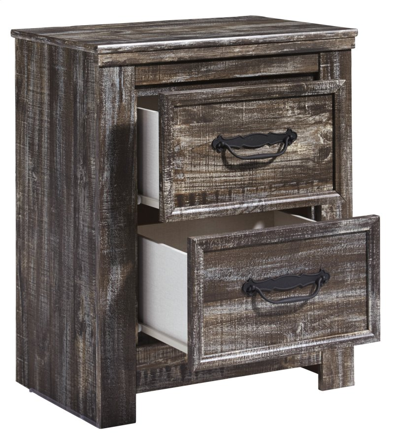 B29792 In By Ashley Furniture In Madison In Two Drawer Night Stand