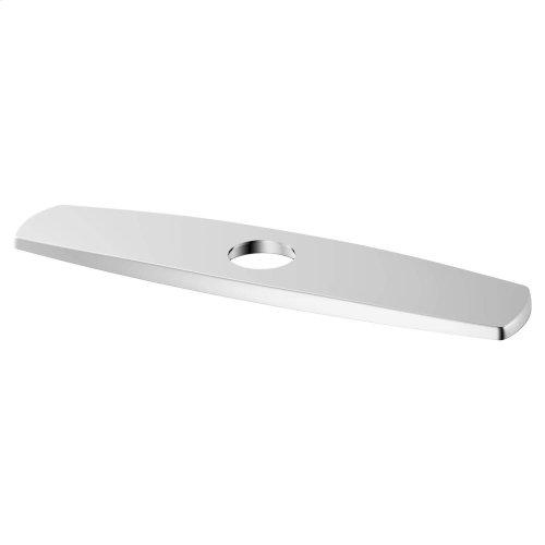 Kitchen Faucet Deck Plate - Polished Chrome