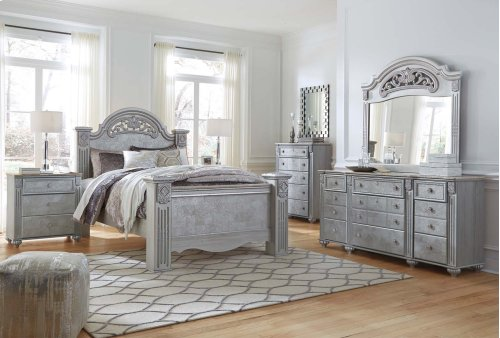 Zolena - Silver 7 Piece Bedroom