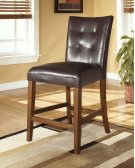 Lacey - Medium Brown Set Of 2 Dining Room Barstools Product Image