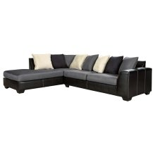 Jacurso - Charcoal 2 Piece Sectional