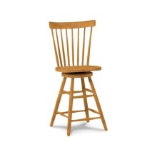Wood seat only, 30''H stool also available (285-30)
