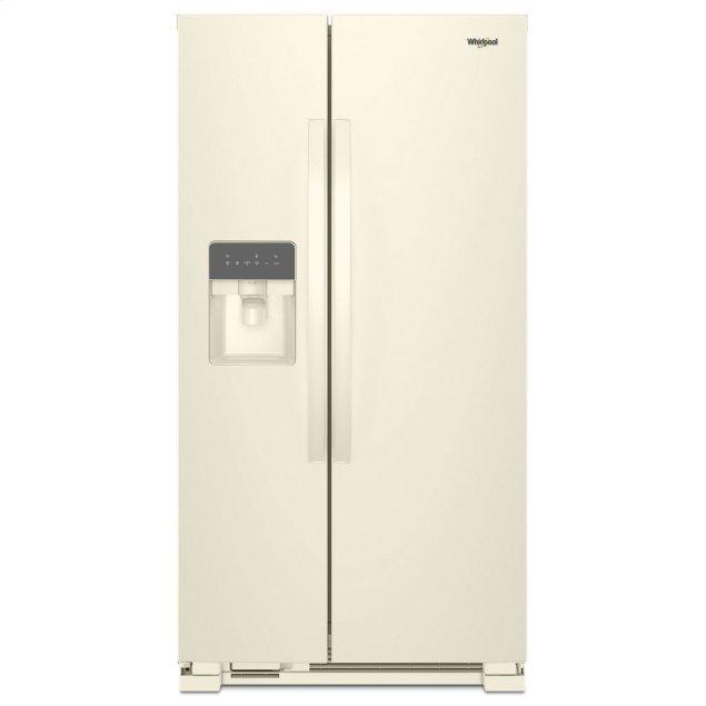 Whirlpool 36-inch Wide Side-by-Side Refrigerator - 24 cu. ft.